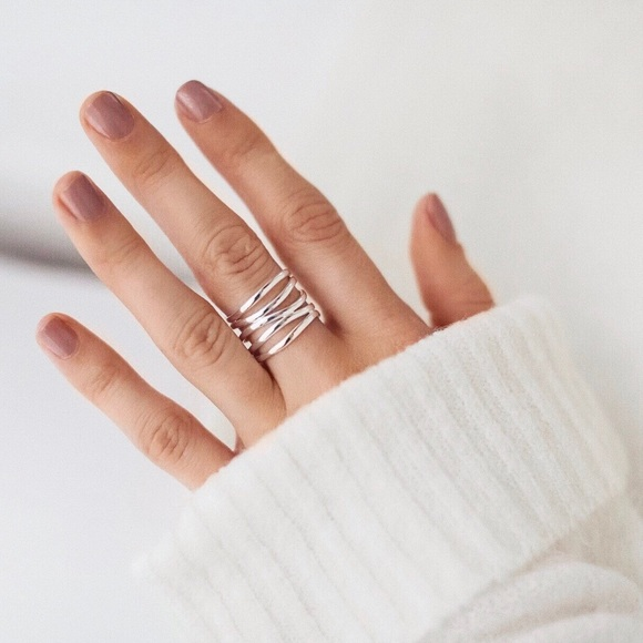 11thstreet Jewelry - Stacked Midi Ring